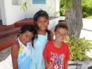 fröhliche polynesische Kinder